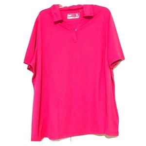 Cutter & Buck Women's Pink Activewear Polo